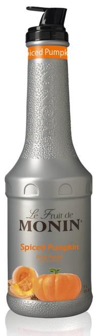 Monin Fruit Puree - 1L Plastic Bottle: Spiced Pumpkin