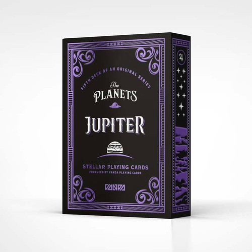 The Planets: Jupiter - Playing Cards by Vanda