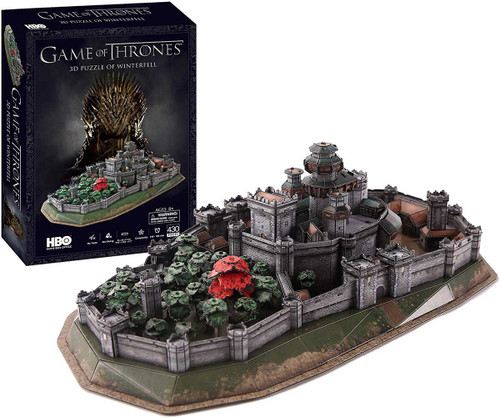 Game of Thrones: Winterfell - 340pc 3D Jigsaw Puzzle by 4D Cityscape