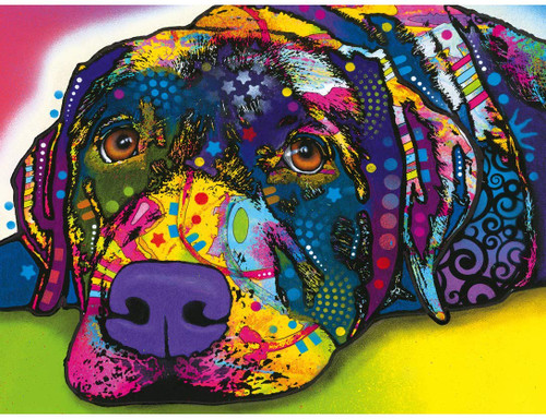 Dean Russo: My Dog Blue - 300pc Large Format Jigsaw Puzzle by Masterpieces
