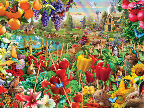 A Plentiful Season - 750pc Jigsaw Puzzle by Masterpieces