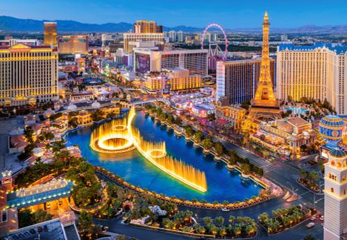 Fabulous Las Vegas - 1500pc Jigsaw Puzzle By Castorland