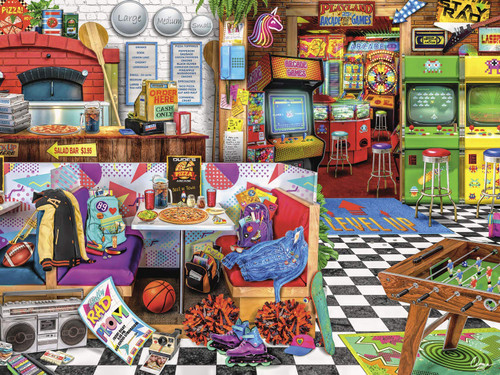 Aimee Stewart: Pizza Arcade - 1500pc Jigsaw Puzzle by Buffalo Games