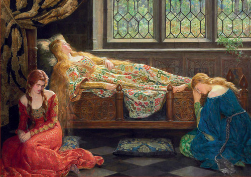 The Sleeping Beauty - 1500pc Jigsaw Puzzle by Educa