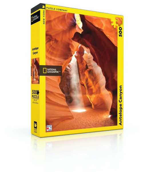 Antelope Canyon - 500pc Jigsaw Puzzle by New York Puzzle Company