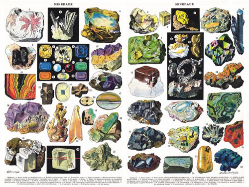 Minerals & Gems - 1000pc Jigsaw Puzzle by New York Puzzle Company