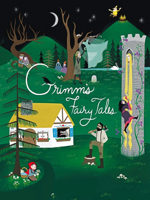 Grimm's Fairytales - 500pc Jigsaw Puzzle by New York Puzzle Company