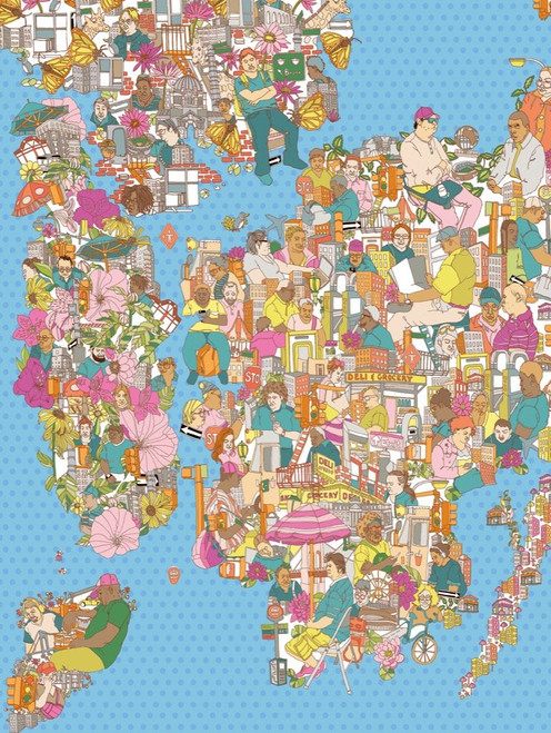 City of Dreamers - 1000pc Jigsaw Puzzle by New York Puzzle Company