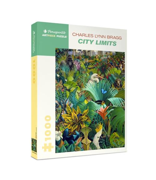 Bragg: City Limits - 1000pc Jigsaw Puzzle by Pomegranate