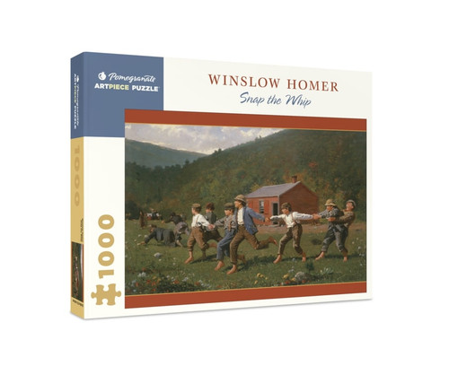 Homer: Snap the Whip - 1000pc Jigsaw Puzzle by Pomegranate