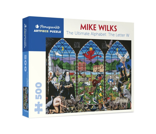 Wilks: Ultimate Alphabet: The Letter W - 500pc Jigsaw Puzzle by Pomegranate