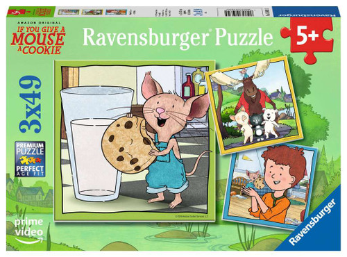 Mouse & Friends - 3x49pc Jigsaw Puzzle By Ravensburger