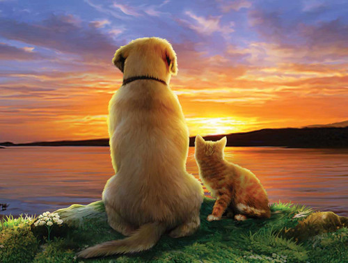 As the Sun Sets - 25pc Jigsaw Puzzle By Sunsout