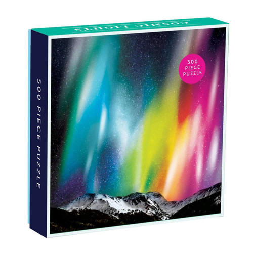 Cosmic Lights - 500pc Jigsaw Puzzle by Galison