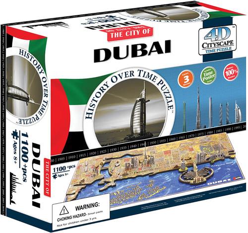 Dubai, UAE - 1200+pc 4D Jigsaw Puzzle by 4D Cityscape