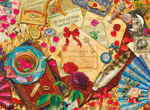 Aimee Stewart: A Vintage Love Letter - 1000pc Jigsaw Puzzle by Buffalo Games