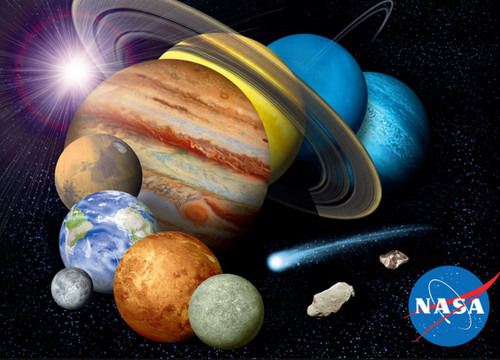Earthpix: Solar System - 500pc Jigsaw Puzzle by Buffalo Games