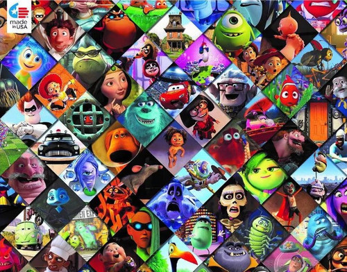 Disney: Pixar Clips - 300pc Large Format Jigsaw Puzzle by Ceaco