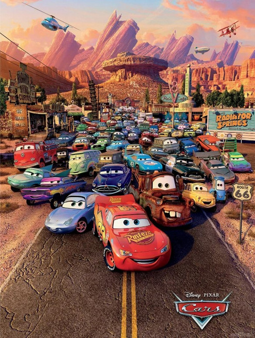 Disney: Cars - 300pc Large Format Jigsaw Puzzle by Ceaco