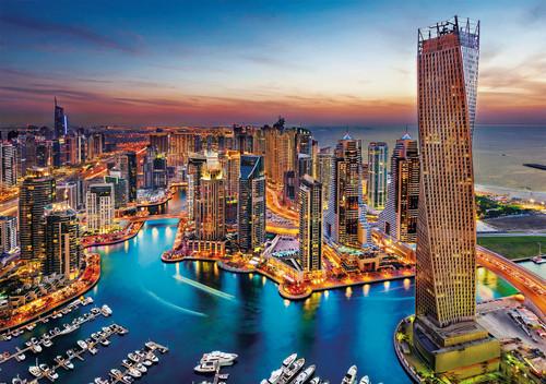 Dubai Marina - 1500pc Jigsaw Puzzle by Clementoni