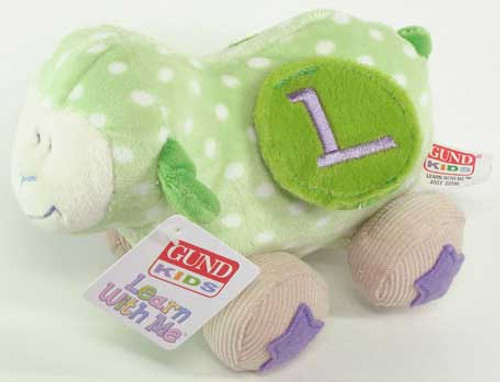 Learn With Me Lamb - 6'' Lamb By Gund