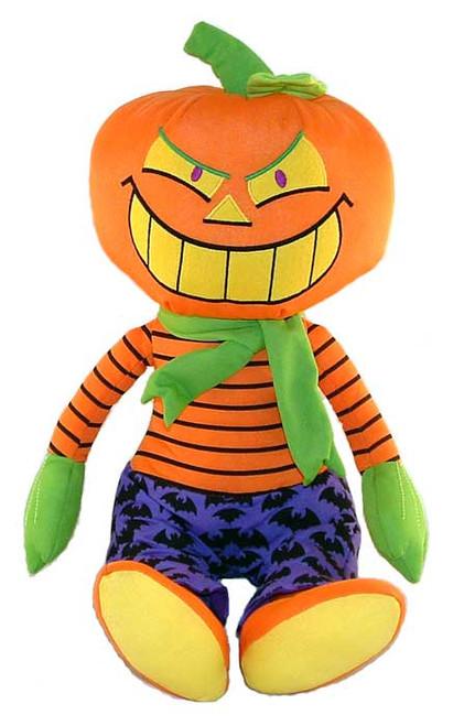 """Frighty Night Pumpkin - 13"""" Pumpkin by Gund"""