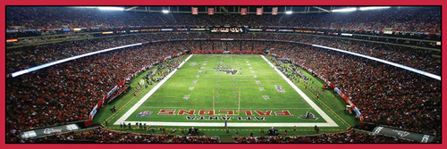 Panoramic Jigsaw Puzzles - Atlanta Falcons