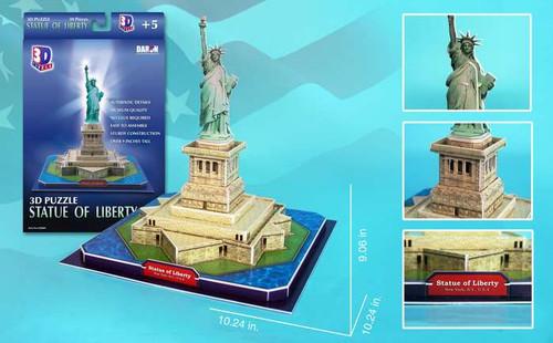 3D Puzzles - Statue of Liberty