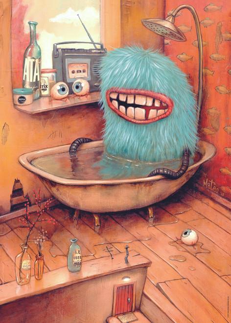 Bathtub  - 1000pc Jigsaw Puzzle By Heye