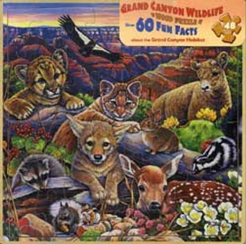 Jigsaw Puzzles - Grand Canyon Animals
