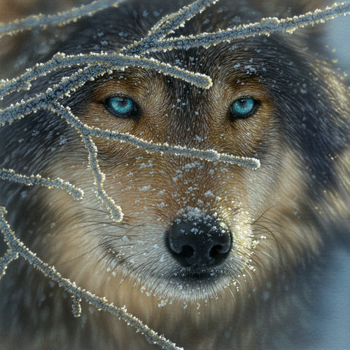 Wolf Puzzles - Fire Within Ice