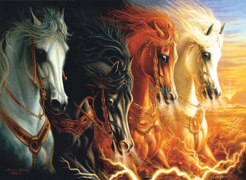 Jigsaw Puzzle - 4 Horses Of The Apocalypse