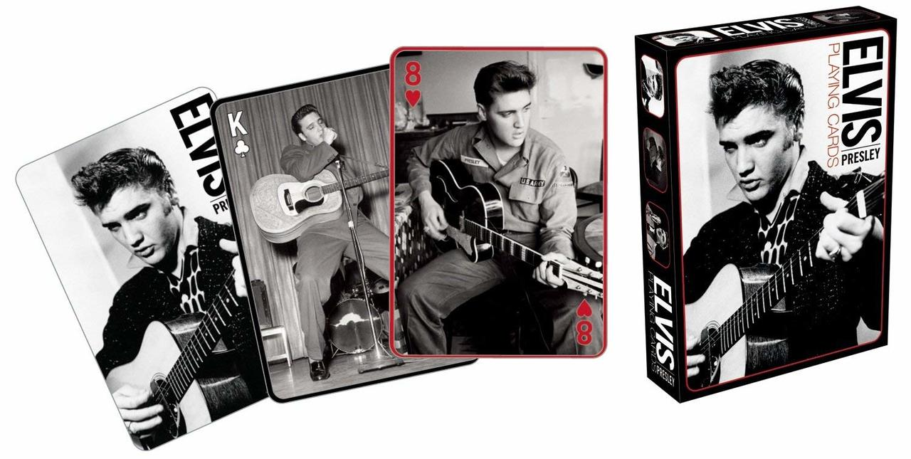 Elvis Covers Playing Cards Deck New