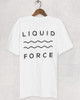 Liquid Force Bumps Tee (White)