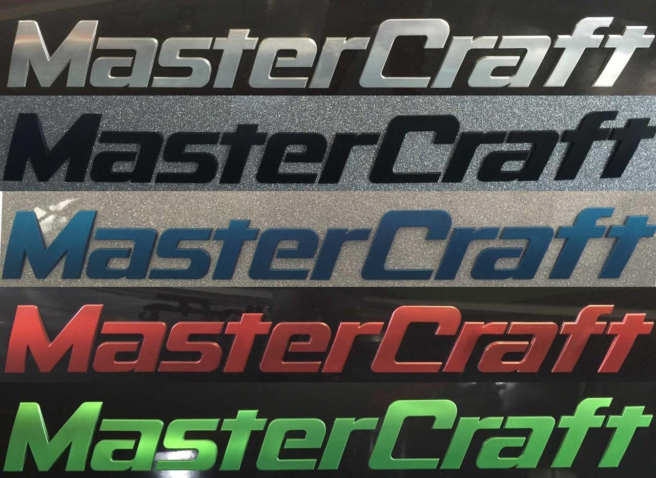 MasterCraft Boat Raised Decal 758477Tournament Team