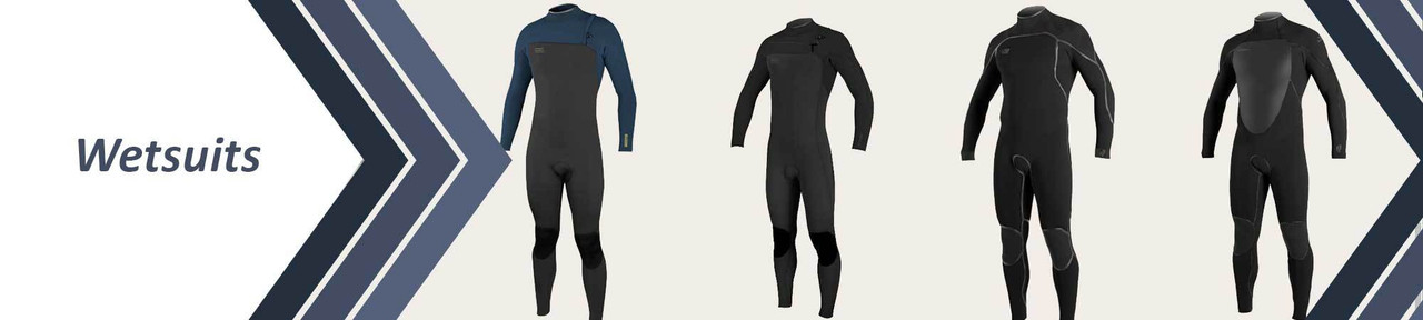 Wetsuits, Drysuits, & Rash Guards