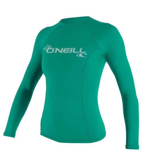8870b68937 O'Neill Womens Basic Skins L/S Rash Guard 1