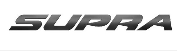 Supra Boats Matte Black Decal 59""