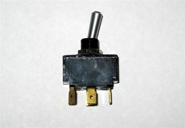 MasterCraft Toggle Switch Red LED 2 Position 6 Prong