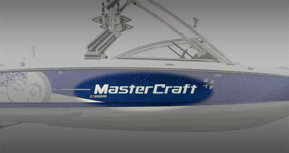 MasterCraft Boats Domed Decal