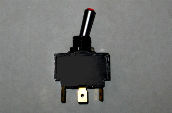 MasterCraft Toggle Switch Red LED 2 Position 3 Prong