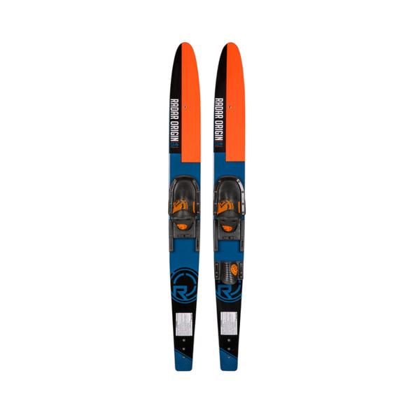 59 - Origin Combos w/ Adj Horseshoe Bindings - Black / Blue / Orange