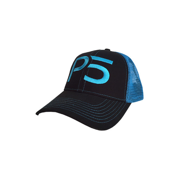Curved Bill Mesh Hat - Blue