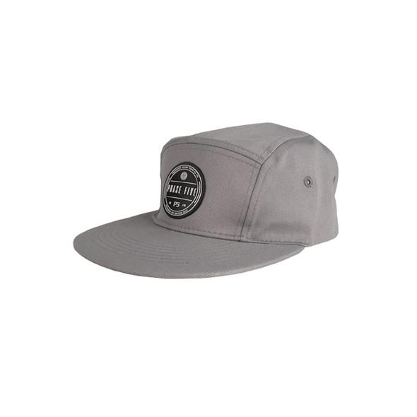 Panel Camp Seal Logo Hat - Grey