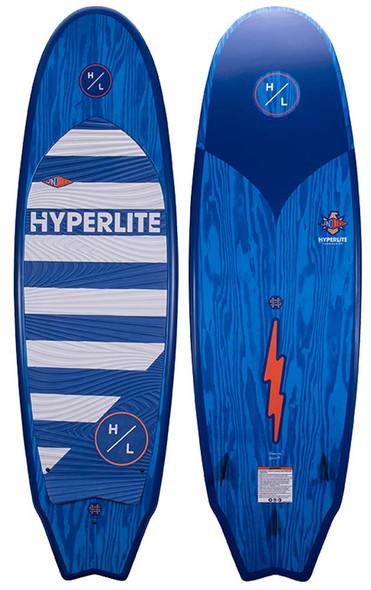 "2022 Hyperlite Landlock Wakesurf Board 5'9""   Up to 300lbs"