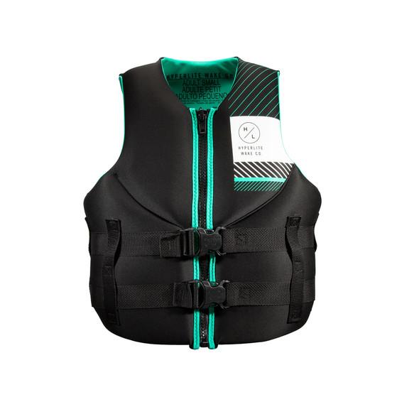 2022 Hyperlite Women's Indy Neo Life Jacket - Aqua