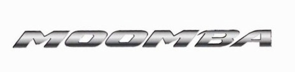 Moomba Boats Chrome Decal 69""