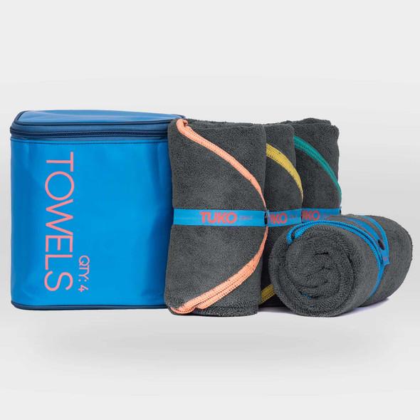 TUKO Towel Kit (4 Pack) Sport