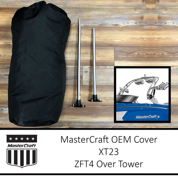 MasterCraft XT23 Cover   ZFT4 Over Tower