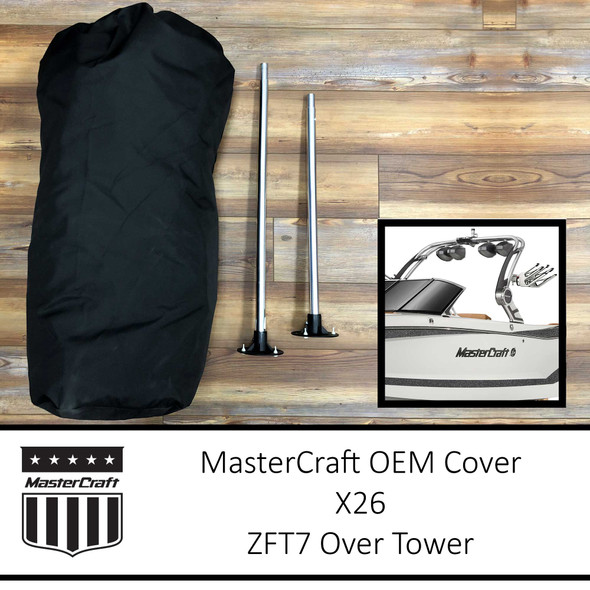 MasterCraft X26 Cover | ZFT7 Over Tower